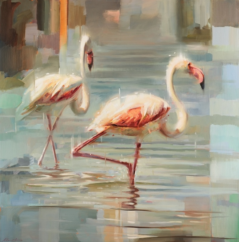 Johnny Morant , Sardinian flamingos II
