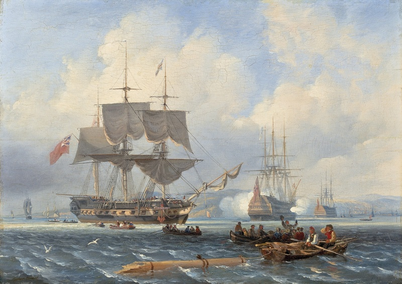 The return of the victorious HMS Shannon
