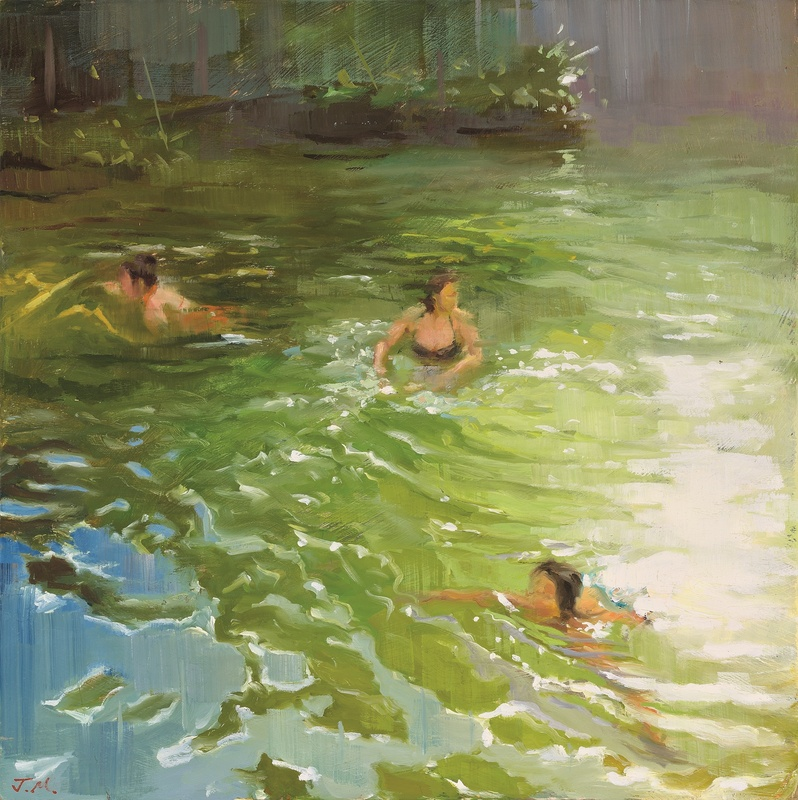 Johnny Morant , Wild swimming